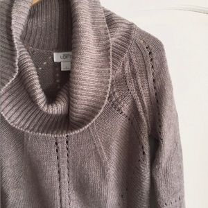 TWO Loft Cowl Neck Sweaters